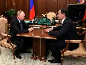 Недоремонт и проблема «третьего места»: чем Никитин поделился с Путиным на встрече в Подмосковье