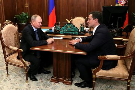 Временно исполняющим обязанности губернатора Нижегородской области назначен Глеб Никитин