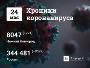 Хроники коронавируса: 24 мая, Нижний Новгород и мир