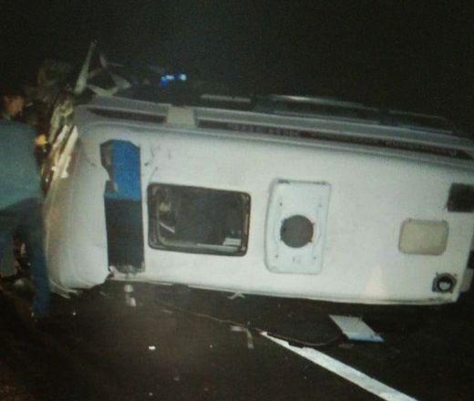 Два человека погибли и пятеро ранены в ДТП с участием скорой в Городецком районе - фото 2