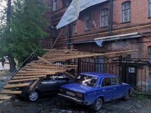 Более тысячи жителей Нижнего Новгорода остаются без света после урагана