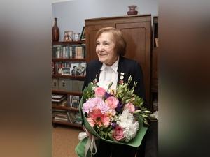 Почётный ветеран Нижнего Новгорода Наталья Курепина отметила 90-летний юбилей