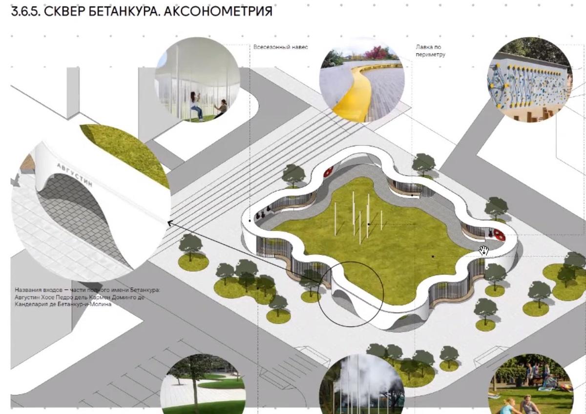 Ленин во ржи и навесы с подогревом: масштабная реконструкция ждет Нижегородскую ярмарку и прилегающие территории - фото 12
