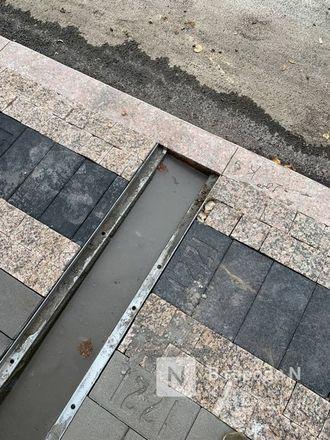 Стоки для воды на отремонтированных улицах Нижнего Новгорода доделают к 15 октября - фото 6