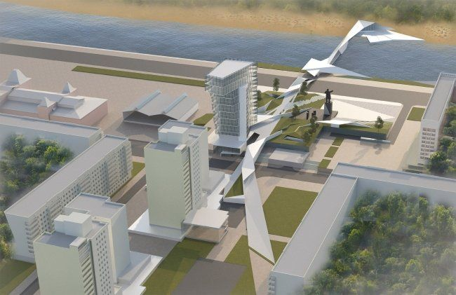 Нижегородские архитекторы представили концепцию благоустройства площади Ленина - фото 4