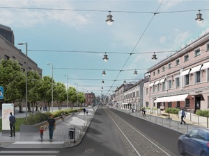 Карманные парки и меньше стихийных парковок: что изменится на Алексеевской