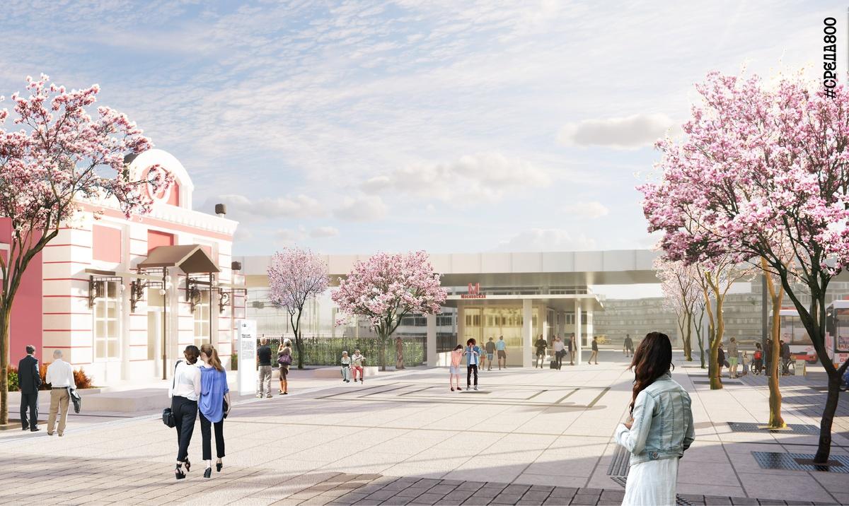 Концепцию благоустройства площади перед железнодорожным вокзалом представили нижегородцам - фото 1