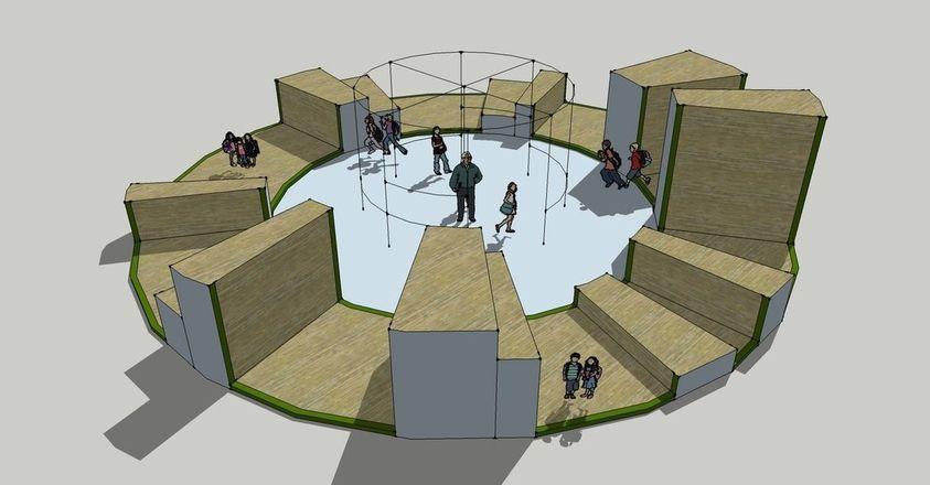 «Зима» вместо «Кремля»: проект площадки в парке Кулибина изменили по просьбам жителей - фото 14