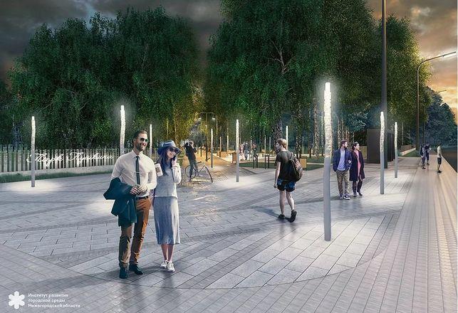 Световые инсталляции и площадка для йоги появятся в парке имени Пушкина - фото 9