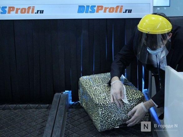 «Антикоронавирусные» кабины для багажа появились в нижегородском аэропорту - фото 17
