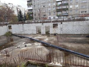 Опасный недострой снесли по просьбам жителей на улице Комсомольской