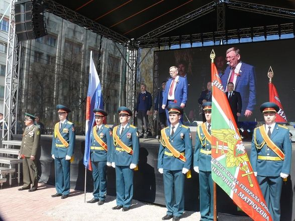 В Нижнем Новгороде торжественно открыли памятник пограничникам - фото 3