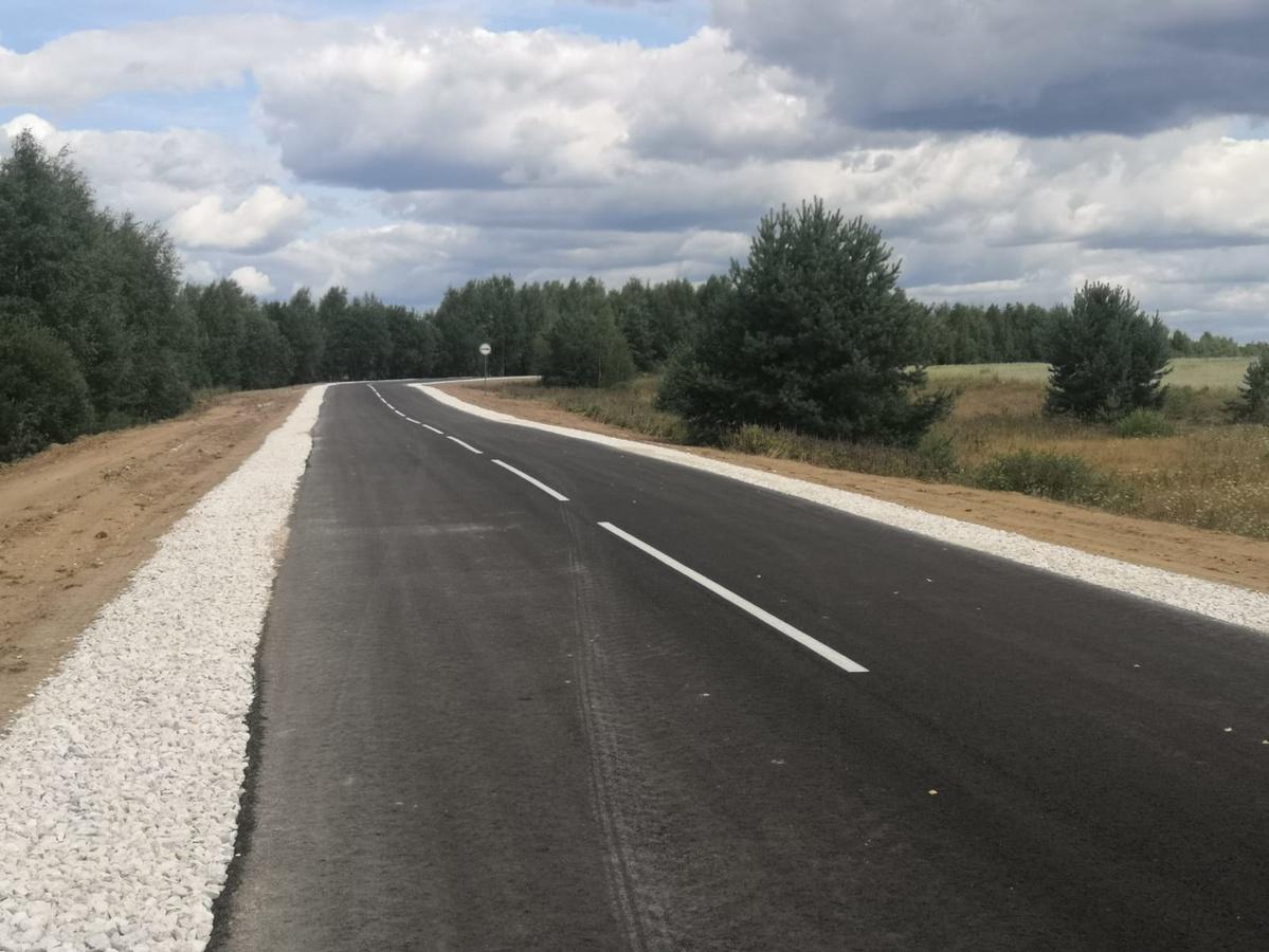 Более 5 км дороги Маза – Мокловка отремонтировали в Ковернинском районе - фото 1