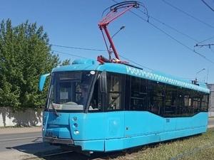 Доставленные из Москвы трамваи обкатывают на нижегородских улицах
