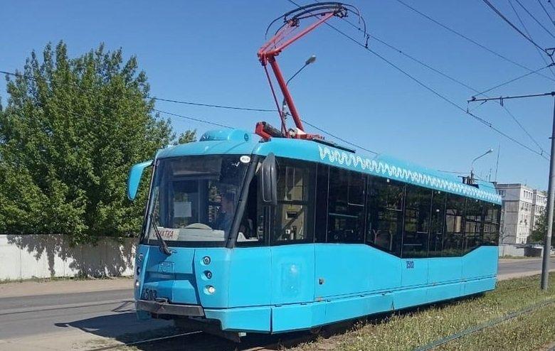 Доставленные из Москвы трамваи обкатывают на нижегородских улицах - фото 1