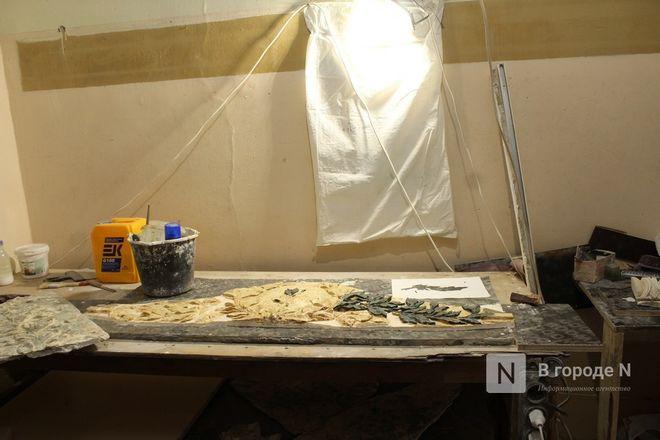 Реставрация исторической лепнины началась в нижегородском Дворце творчества - фото 22
