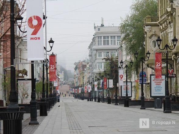 Пустые улицы и «Бессмертный полк» на балконах - фото 62