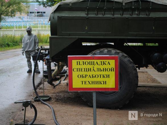 «Оценка огнеметчикам — «пять». Как нижегородские росгвардейцы учатся стрелять из «Шмеля» - фото 13