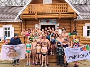 Центр оздоровления и закаливания открыли на парковом озере Автозаводского района