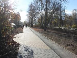 Зоны отдыха и скейт-парк появились на центральной улице Дивеева