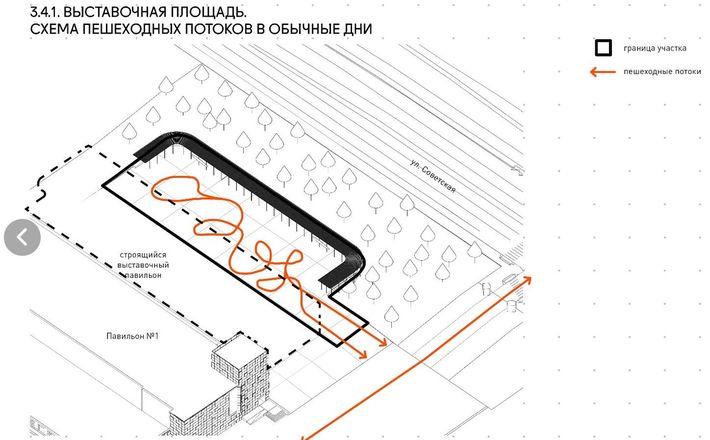 Ленин во ржи и навесы с подогревом: масштабная реконструкция ждет Нижегородскую ярмарку и прилегающие территории - фото 10