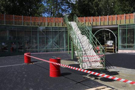 Благоустройство нижегородского парка «Швейцария» идет с опережением графика