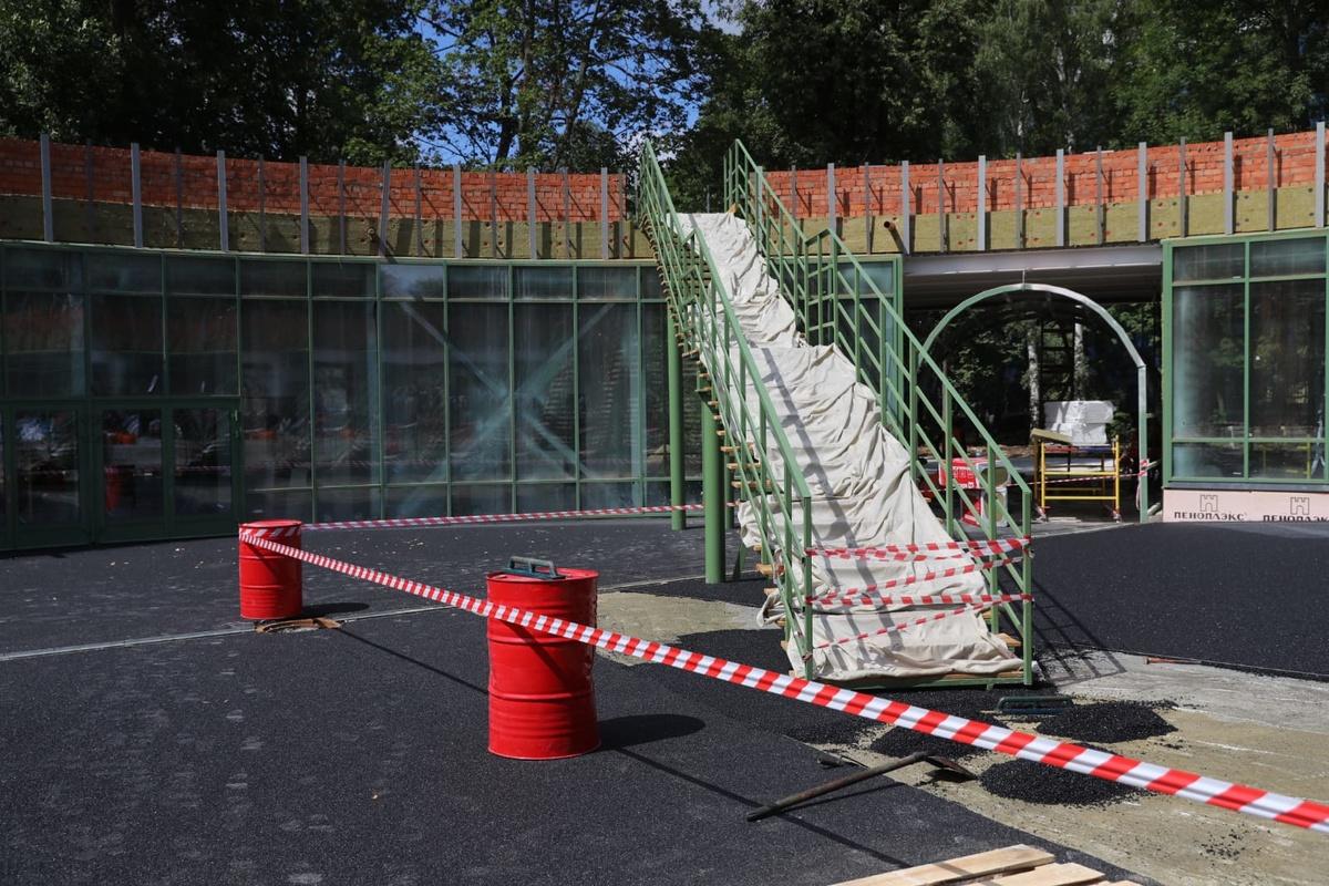 Благоустройство нижегородского парка «Швейцария» идет с опережением графика - фото 1