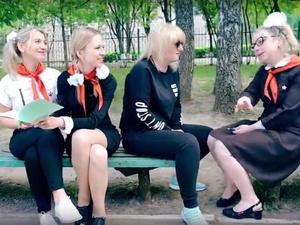 Милый клип о своем видении школы сняли родители нижегородских выпускников
