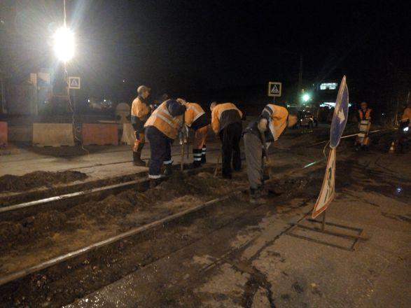 Трамвайные пути отремонтировали на шести нижегородских улицах - фото 2