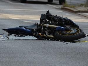 Протараненный легковушкой мотоциклист скончался в больнице Канавинского района