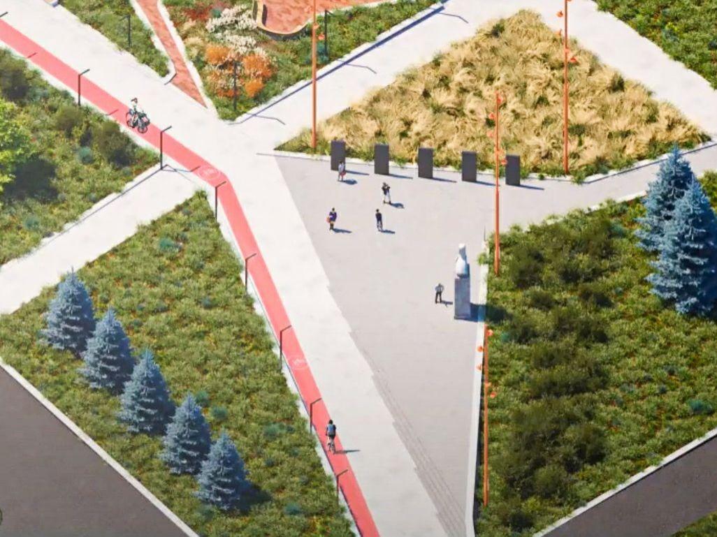 Расширить фонтан и убрать «аллею школьников»: каким может стать бульвар Рокоссовского - фото 2