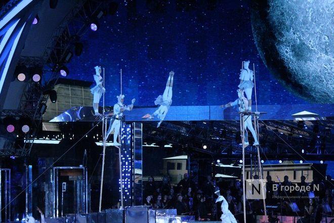 Огонь, вода и звезды эстрады: Как прошло гала-шоу 800-летия Нижнего Новгорода - фото 91