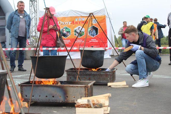 Три вида ухи и лодка в подарок: в Нижнем Новгороде стартовал фестиваль рыбалки - фото 34