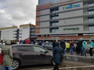 В Нижнем Новгороде эвакуировали ТЦ «Небо» (ФОТО)