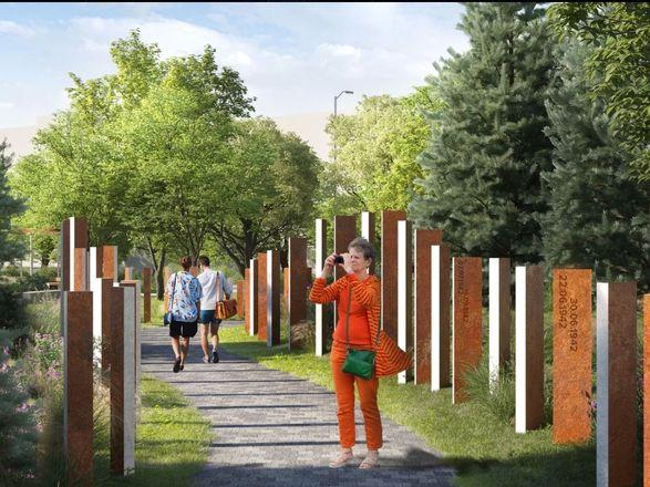 Детская площадка в виде холмов и подсветка деревьев появятся на площади Маршала Жукова - фото 4