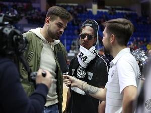 Картонный болельщик поддержал БК «НН» в победном матче с «Цмоки-Минск»