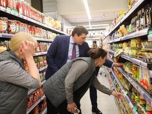 Никитин назвал плохой менеджмент причиной дефицита продуктов в нижегородских супермаркетах