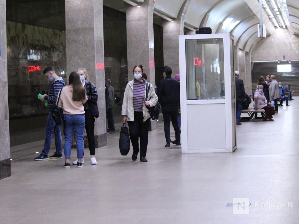 200 пассажиров нижегородского метро получили бесплатные маски - фото 3