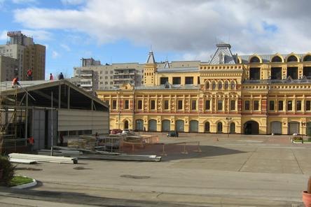 Печь и площадка из труб для Нижегородской ярмарки задержались по вине поставщика