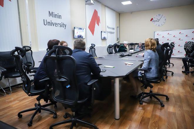В Мининском университете прошло первое мероприятие в рамках 110-летия вуза - фото 5