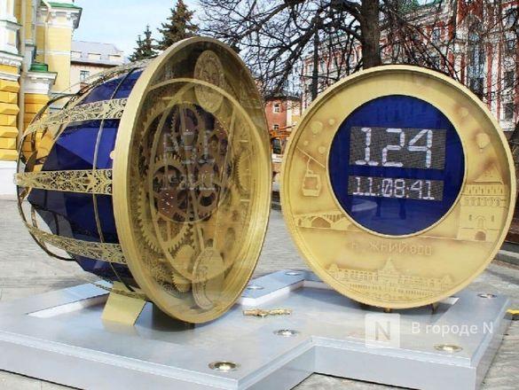 Часы обратного отсчета до 800-летия появились в Нижнем Новгороде - фото 2