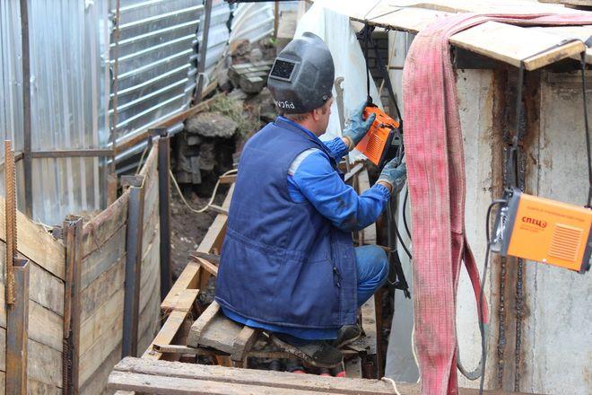 Столетний коллектор на улице Ковалихинской отремонтируют до конца года - фото 23