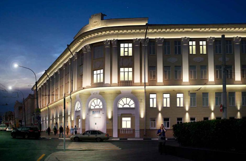 Подсветка трех зданий на площади Минина и Пожарского подешевела на 1 млн рублей - фото 1