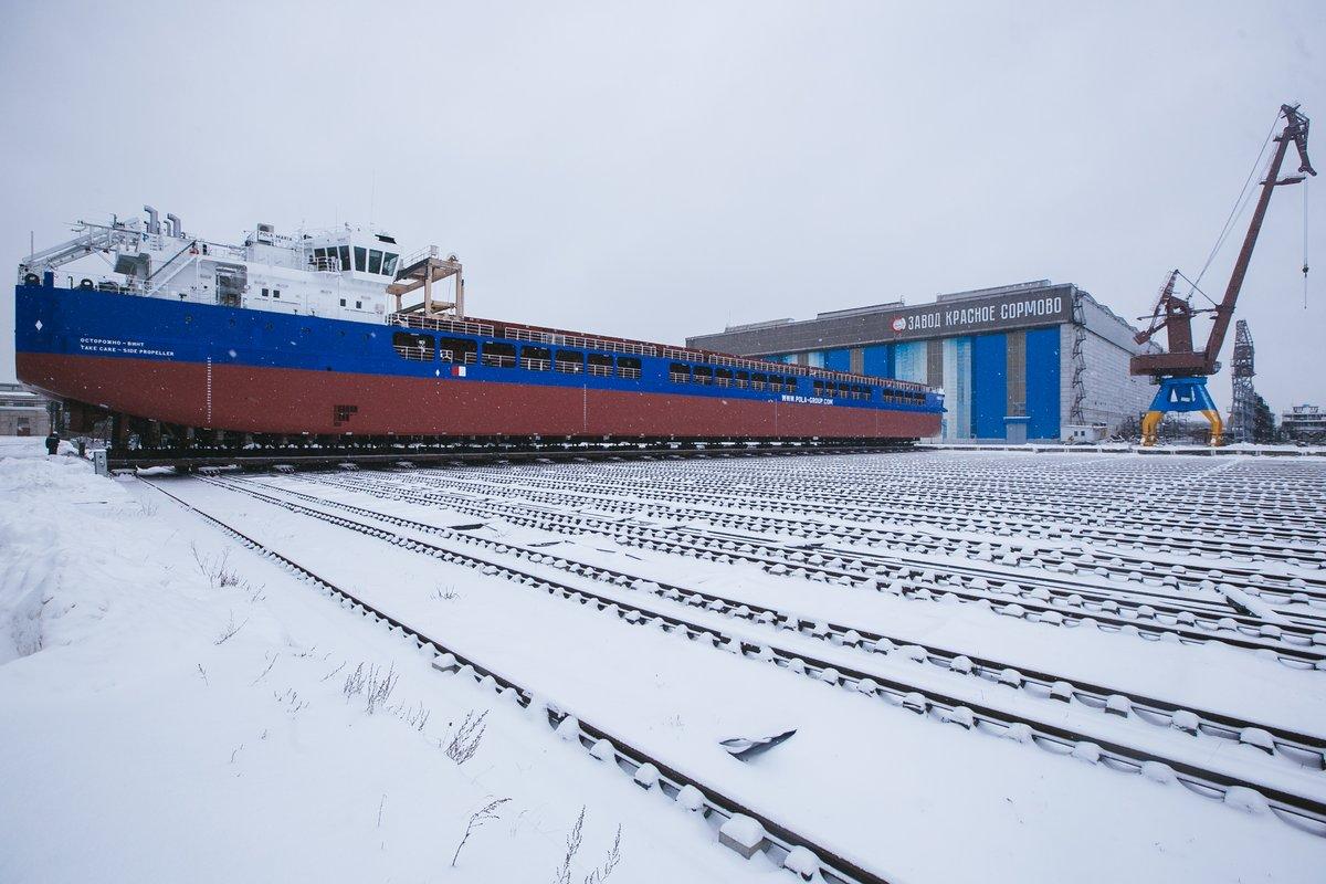Сухогруз «Пола Ярослава» спустят на воду на «Красном Сормове» - фото 1