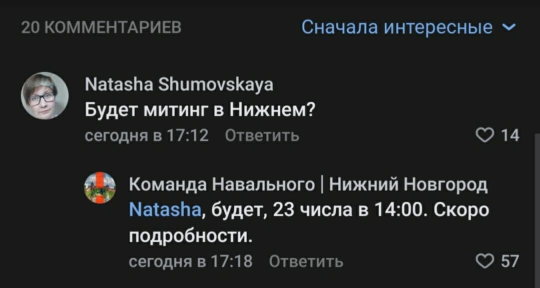 Митинг в поддержку Навального обещают провести в Нижнем Новгороде  - фото 2