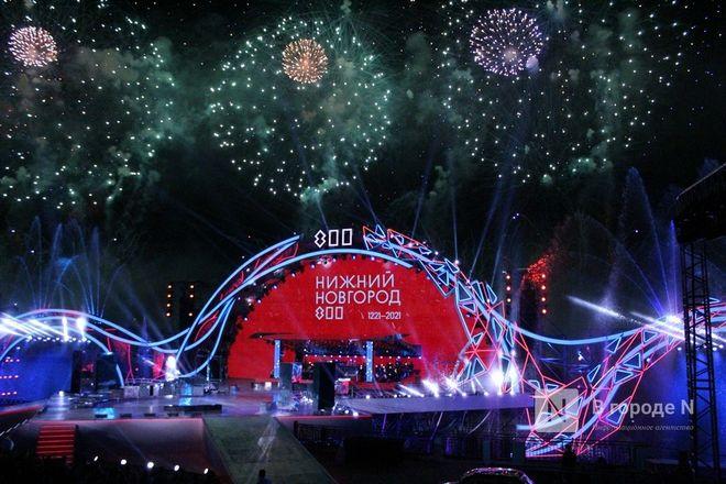 Огонь, вода и звезды эстрады: Как прошло гала-шоу 800-летия Нижнего Новгорода - фото 22