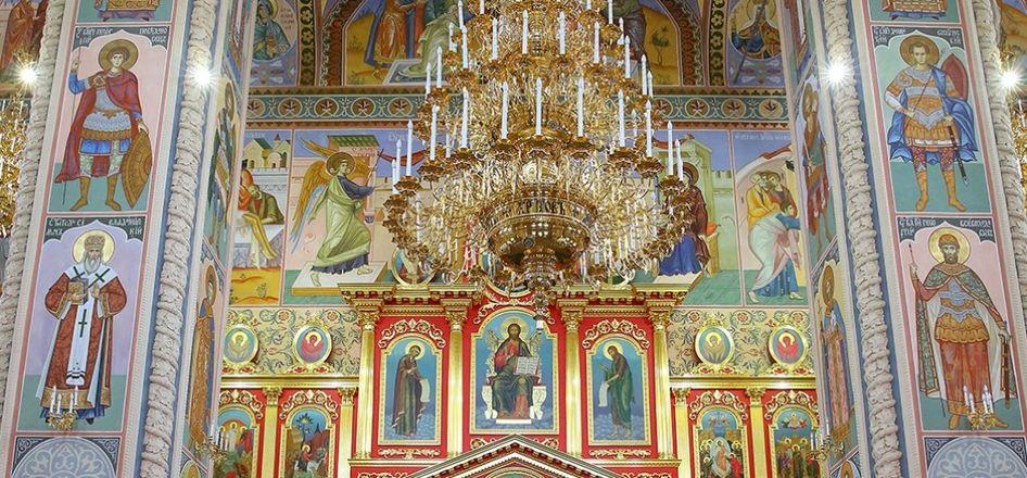 Уникальные росписи украсили храм князя Георгия Всеволодовича в Нижнем Новгороде - фото 1