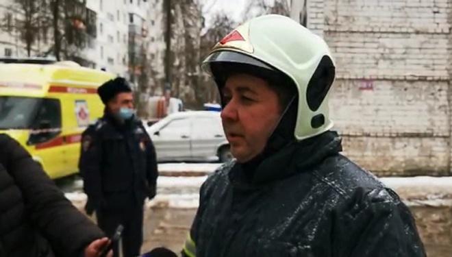 Подробности ЧП на Березовской сообщил начальник ГУ МЧС по Нижегородской области Валерий Синьков - фото 1