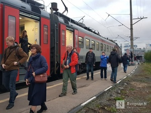 Две электрички семеновского направления отменяются с 4 октября