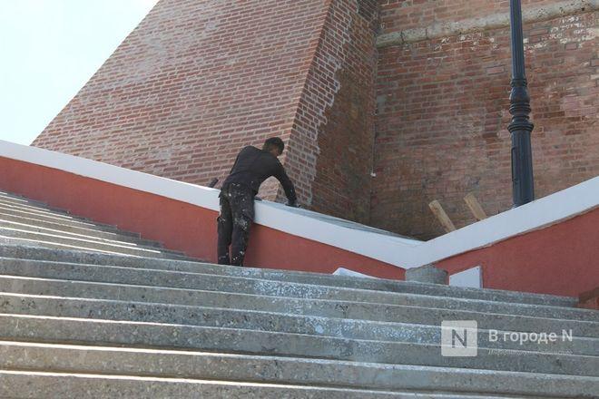 Чкаловскую лестницу открыли, несмотря на продолжающиеся ремонтные работы - фото 38
